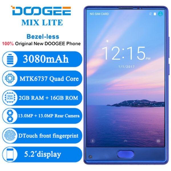 Doogee Mix Lite 2 GB + 16 G