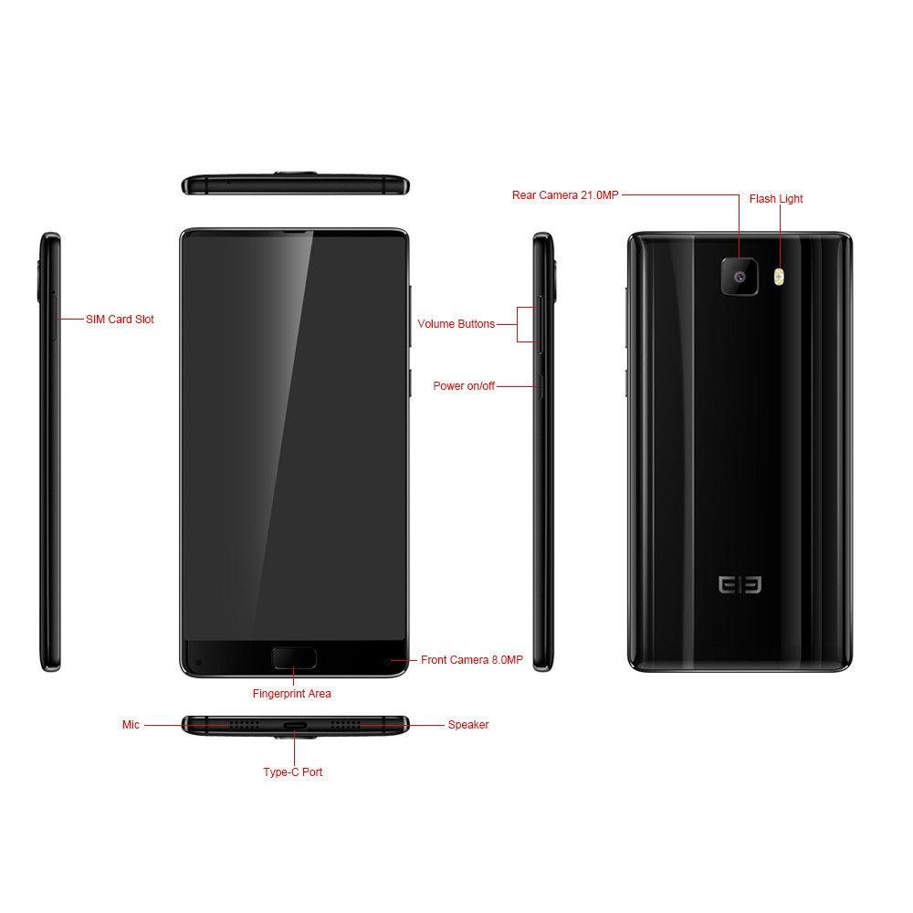 Elephone S8 4 GB Ram 64 GB Rom