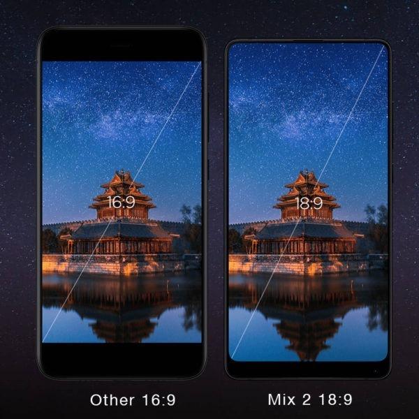 Xiaomi Mi Mix 2 Nero 64 GB Rom 6 GB Ram
